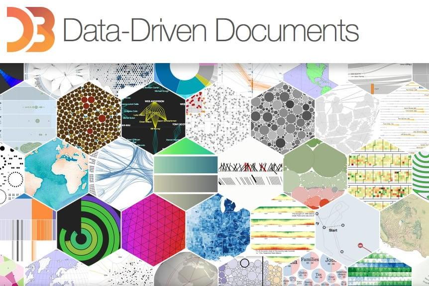 D3 JS – Manipulación eficiente de documentos basados en datos sobre W3C